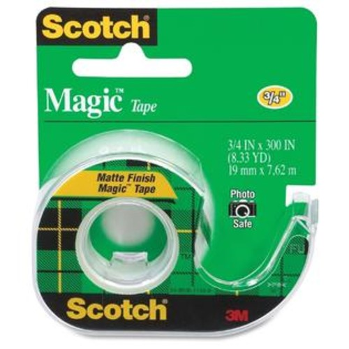 Scotch Magic Tape with Handheld Dispenser - 1/RL