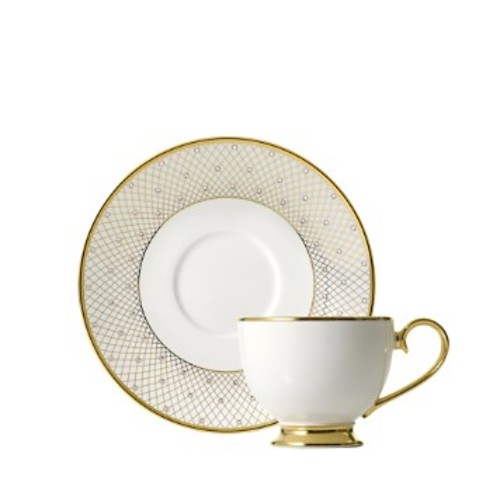 Princess Gold Teacup & Saucer