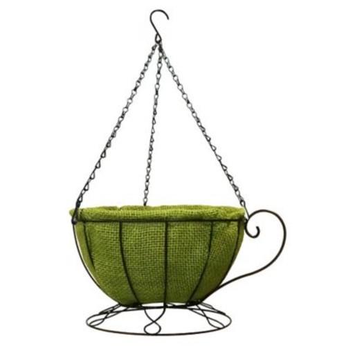 Gardener Select Cup Basket 12'' Hanging Planter w/ Coco Liner