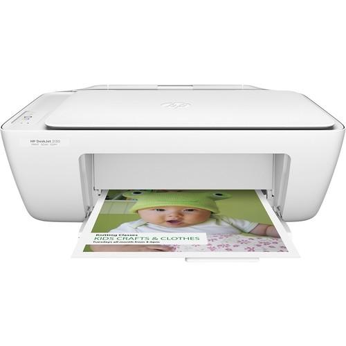HP - DeskJet 2130 All-In-One Printer - White