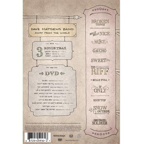 Dave Matthews Band - Away from the World [CD/DVD] [Super Deluxe Edition] [RCA]