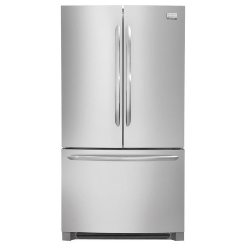 Frigidaire Gallery Series 27.8 Cu. Ft. French Door Free-Standing Refrigerator/Freezer Color: Stainless Steel