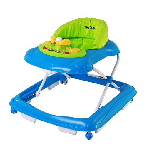 Dream On Me Scout Musical Walker and Activity Center, Green [Green]