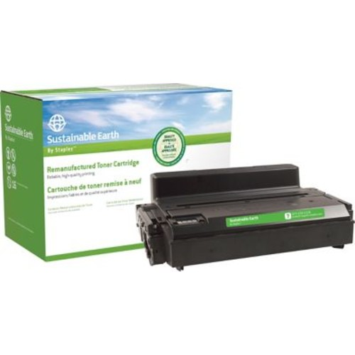 Sustainable Earth by Staples Reman Laser Toner Cartridge, Samsung MLT-D203, Black, High Yield