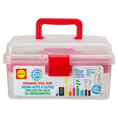 ALEX Toys Artist Studio 33 Piece Drawing Toolbox