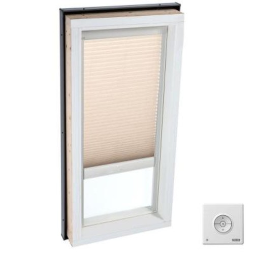 VELUX Solar Powered Light Filtering Lovely Latte Skylight Blind for FCM 3446 Models