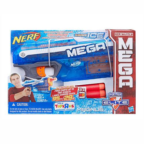 NERF N-Strike Elite Mega Series Sonic Ice Magnus Blaster