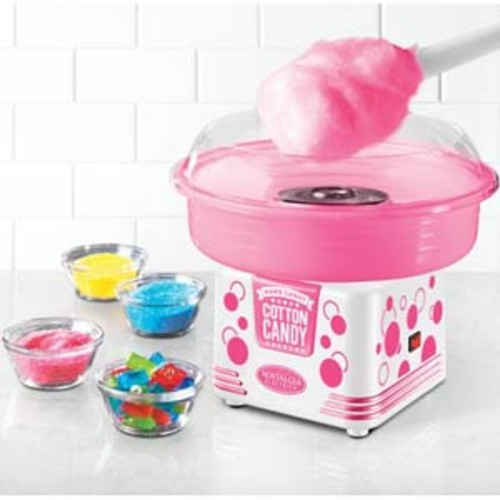 Nostalgia Hard Candy Cotton Candy Maker