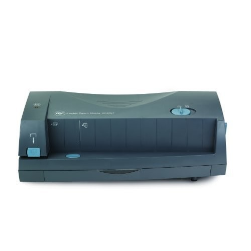 Swingline Electric Paper Punch / Stapler 2 or 3 Hole, 24 Sheet, 3230ST - 7704280