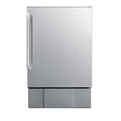 Summit Outdoor 12 lb. Built-In Ice Maker in Stainless Steel