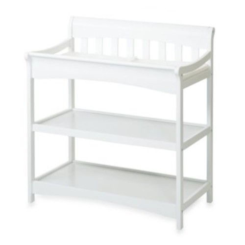 Child Craft Coventry Changing Table in Matte White