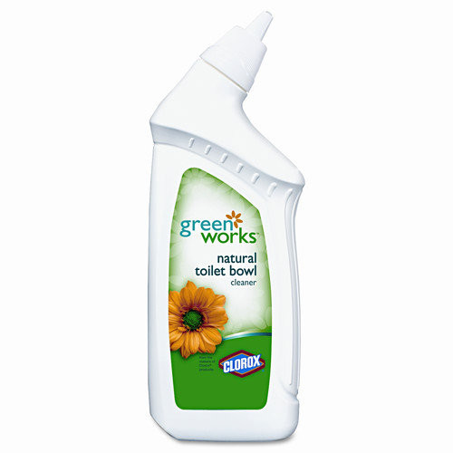 Green Works 00451 Toilet Bowl Cleaner Manual, 24 fl oz Bottle [1]