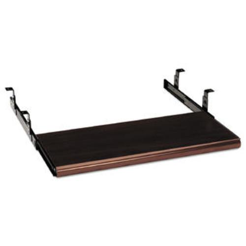 HON Slide-Away Keyboard Platform Laminate 21-1/2w x 10d Mahogany