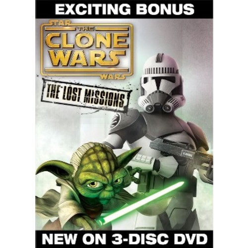 Star Wars: The Clone Wars - The Lost Missions 3 Disc DVD