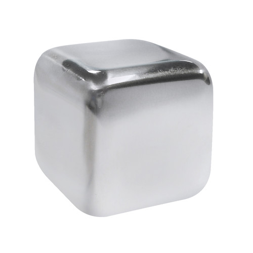Epicureanist Stainless Ice Cubes