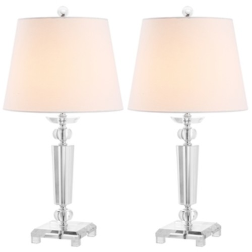 Safavieh Indoor 1-light Imogene Crystal Table Lamps (Set of 2)