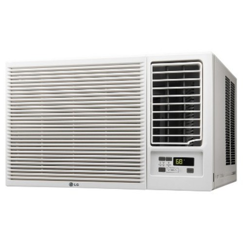 LG Electronics 23,000 BTU 230/208V Window Air Conditioner with Cool, Heat, and Remote