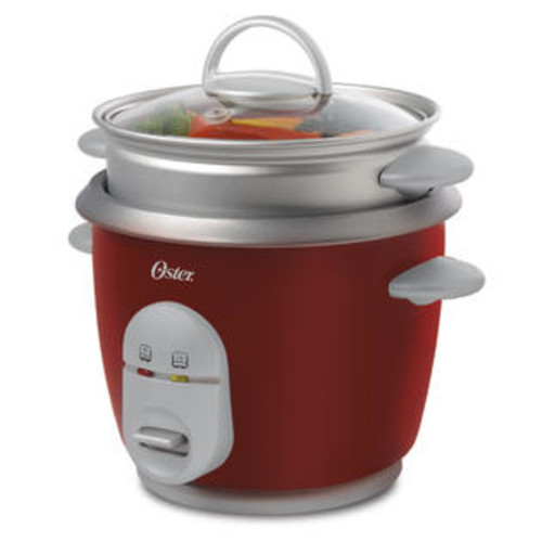 Jarden RICE COOKER RED 6 CUPS COOKED