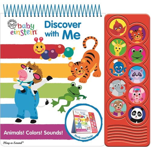 Baby Einstein Discover with Me Easel Sound Book