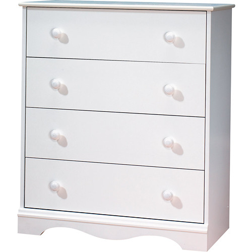 South Shore - Heavenly 4-Drawer Chest - White