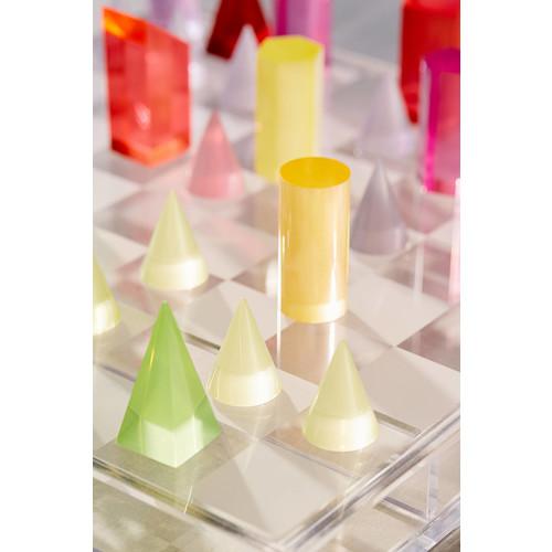 UO Neon Acrylic Chess Set [REGULAR]