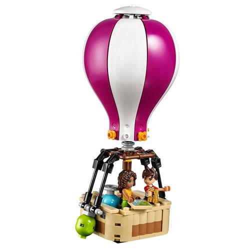LEGO Friends Heartlake Hot Air Balloon (41097) [Configuration :]