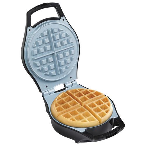 Hamilton Beach - Durathon Belgian-Style Waffle Maker - Black/Silver