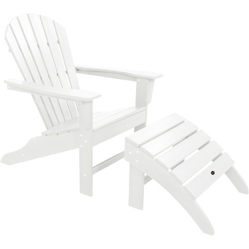 POLYWOOD South Beach Plastic Adirondack Chair