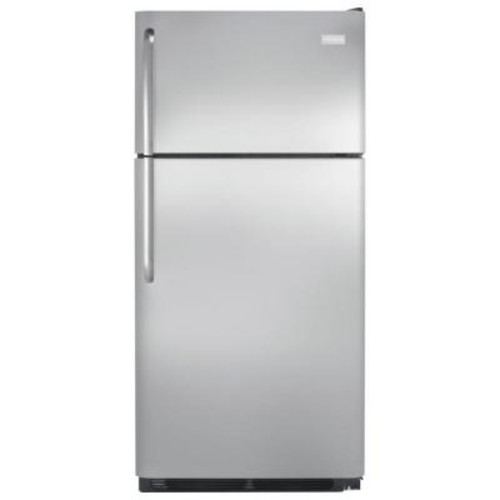 Frigidaire 18 cu. ft. Top Freezer Refrigerator in Stainless Steel