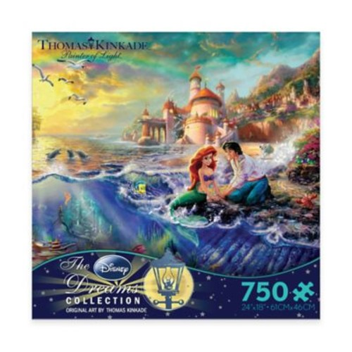 Thomas Kinkade Disney Dreams 750-Piece The Little Mermaid Puzzle