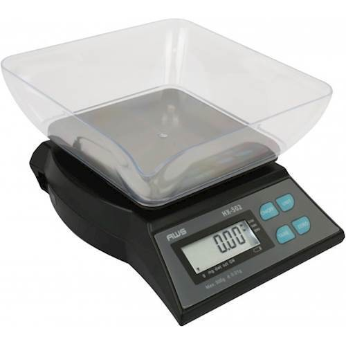 American Weigh Scales - HX-Series Compact Bench Scale - Black