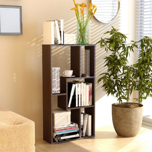 Furinno Boyate Walnut Magic Cube Storage Rack