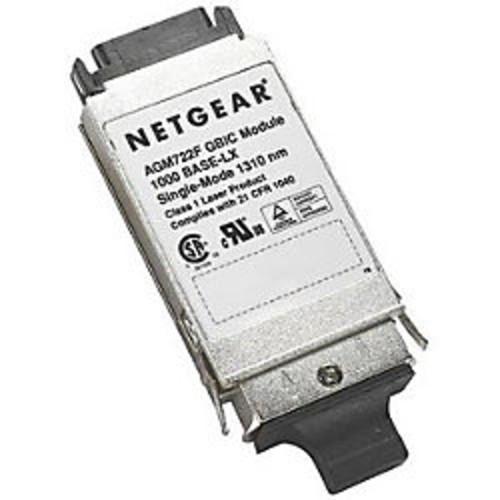 NETGEAR ProSafe AGM722F GBIC transceiver module - SC single mode - Plug-in module