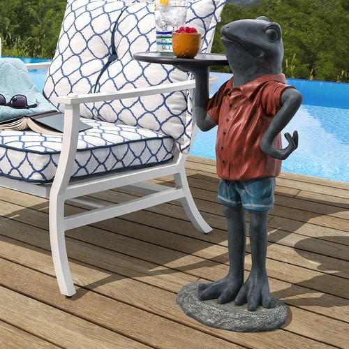 Bombay Outdoors Tobias Frog End Table - Indoor / Outdoor