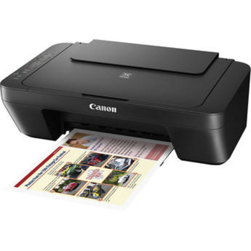 PIXMA MG3020 Wireless All-in-One Inkjet Printer (Black)