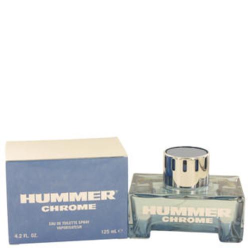 Hummer Eau De Toilette Spray 4.2 Oz Hummer Chrome Cologne By Hummer For Men