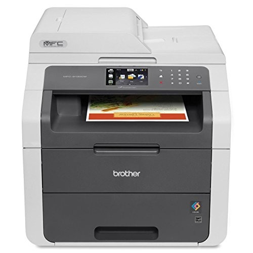 Brother MFC9130CW Wireless All-In-One Printer with Scanner, Copier and Fax, Amazon Dash Replenishment Enabled [MFC9130CW]