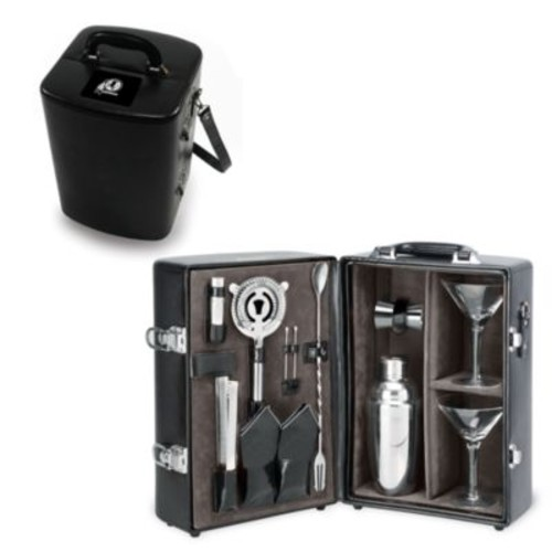 Picnic Time Manhattan Black Insulated Cocktail Case - Washington Redskins