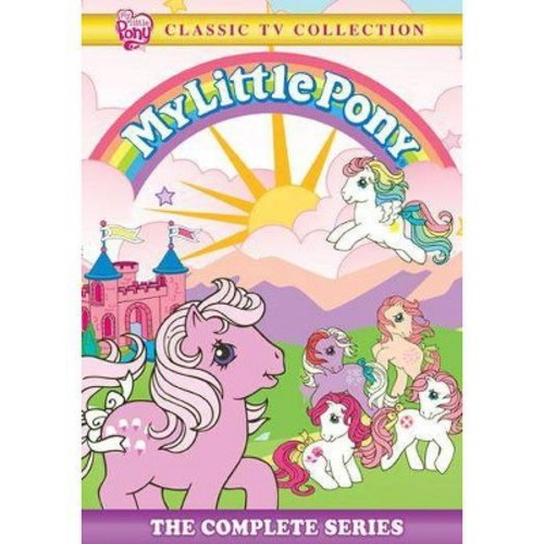 My Little Pony: The Complete Series (4 Discs) (dvd_video)
