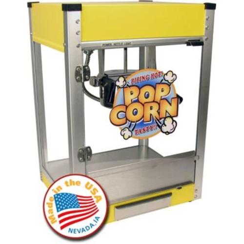 Snappy Popcorn 4 oz Paragon Cineplex Popcorn Popper; Yellow