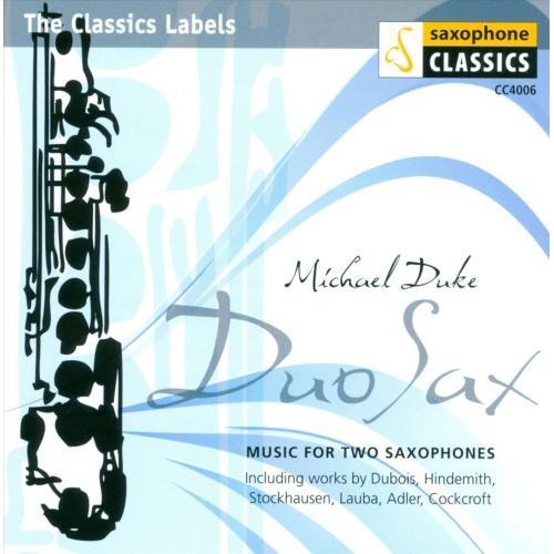 Duo Sax [CD]