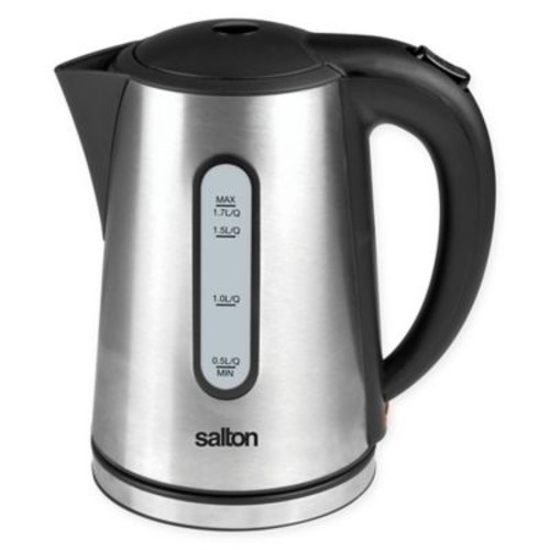 Salton 1.7-Liter Cordless Electric Stainless Steel Kettle