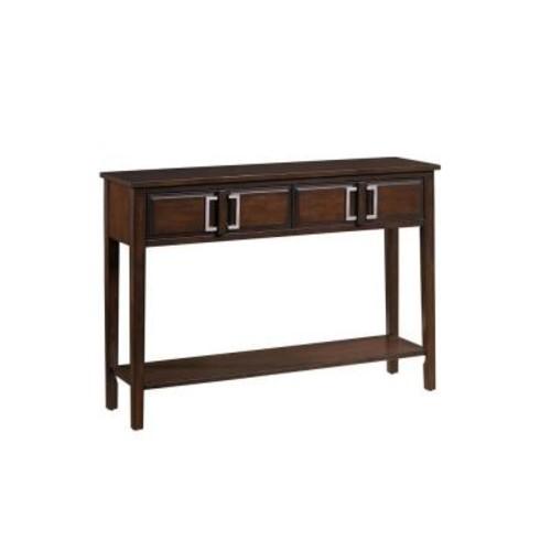 Pulaski Furniture Brown Storage Console Table