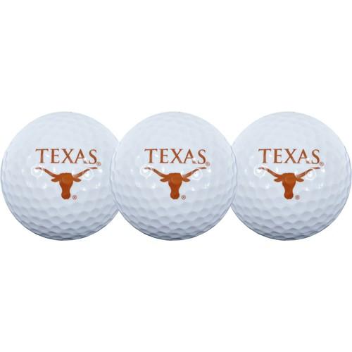 Team Effort Texas Longhorns Golf Balls - 3-Pack