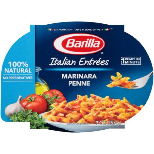 Barilla Mezze Penne with Traditional Marinara Sauce 9 oz (255 g)