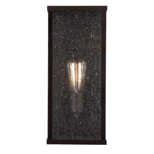 Feiss Lumiere Collection 1-Light Oil-Rubbed Bronze Outdoor Wall Mount Sconce