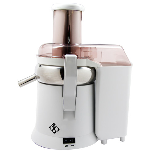 L'EQUIP 306601 480 Watts XL Pulp Ejection Juice Extractor - White