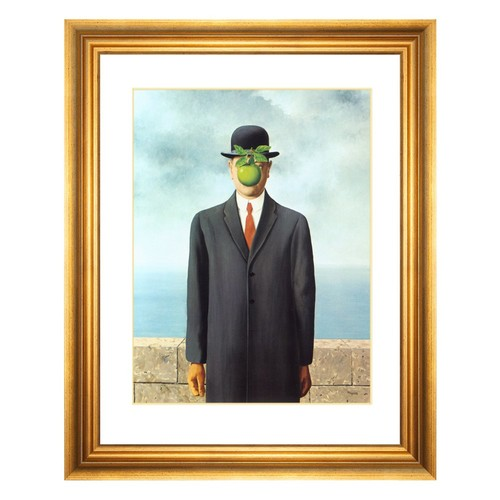 Ren Magritte, The Son of Man