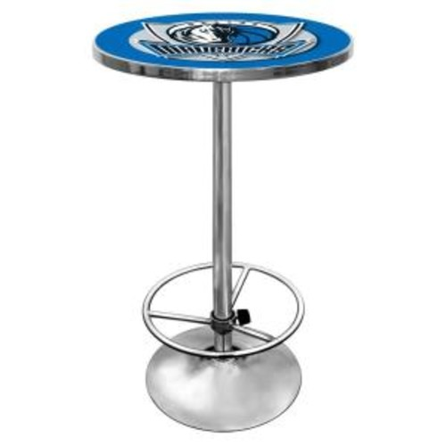 Trademark NBA Dallas Mavericks Chrome Pub/Bar Table