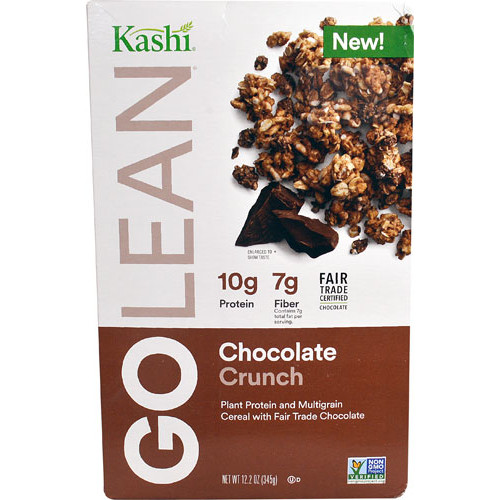 Kashi GoLean Plant Protein and Multigrain Cereal Chocolate Crunch -- 12.2 oz